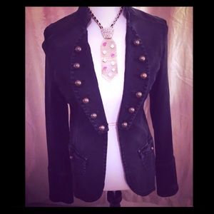 7 for all Mankind denim jacket NWT